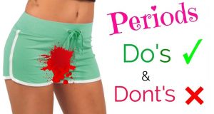 Do's and Don'ts During Your Menstrual Period,