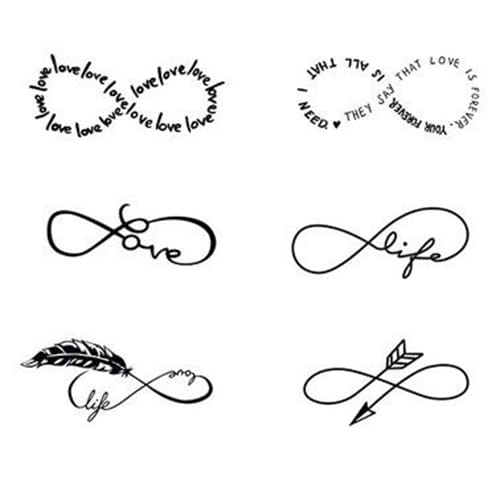 Infinity tattoos for women