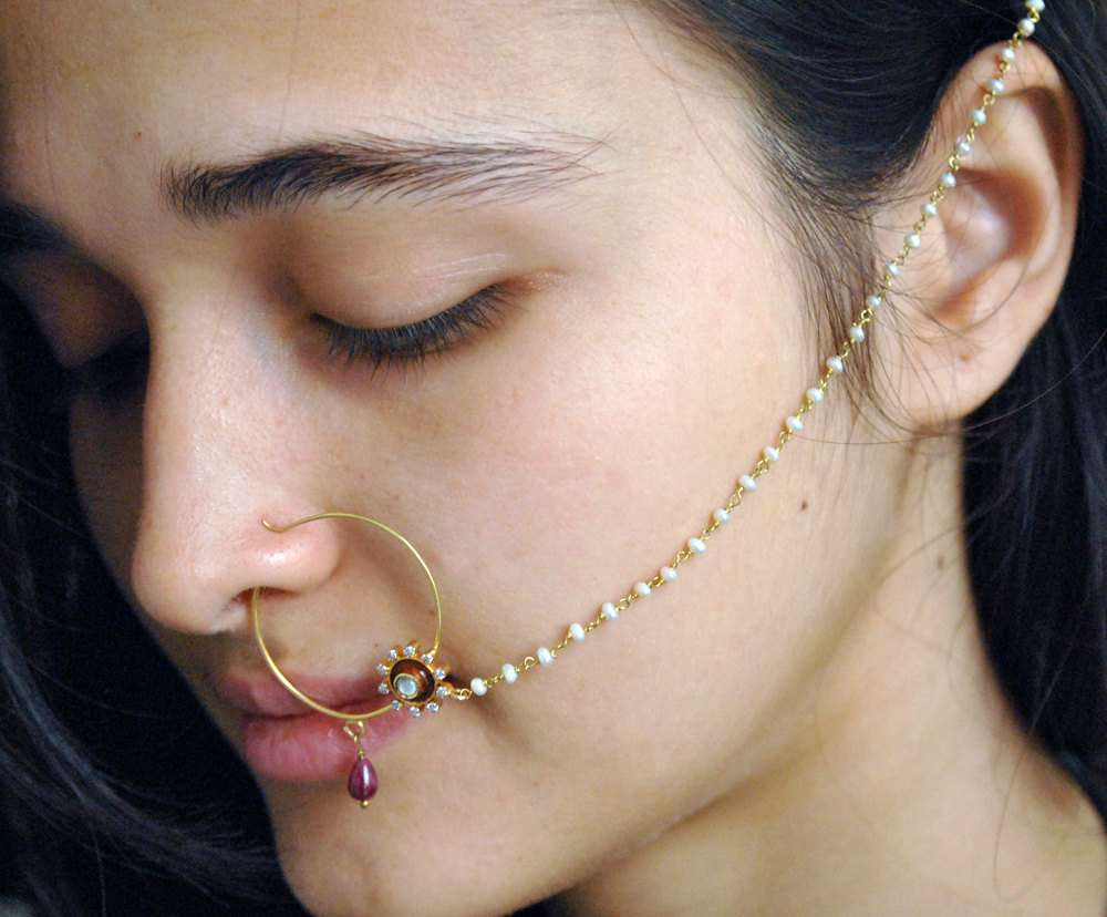 indian nose jewellery