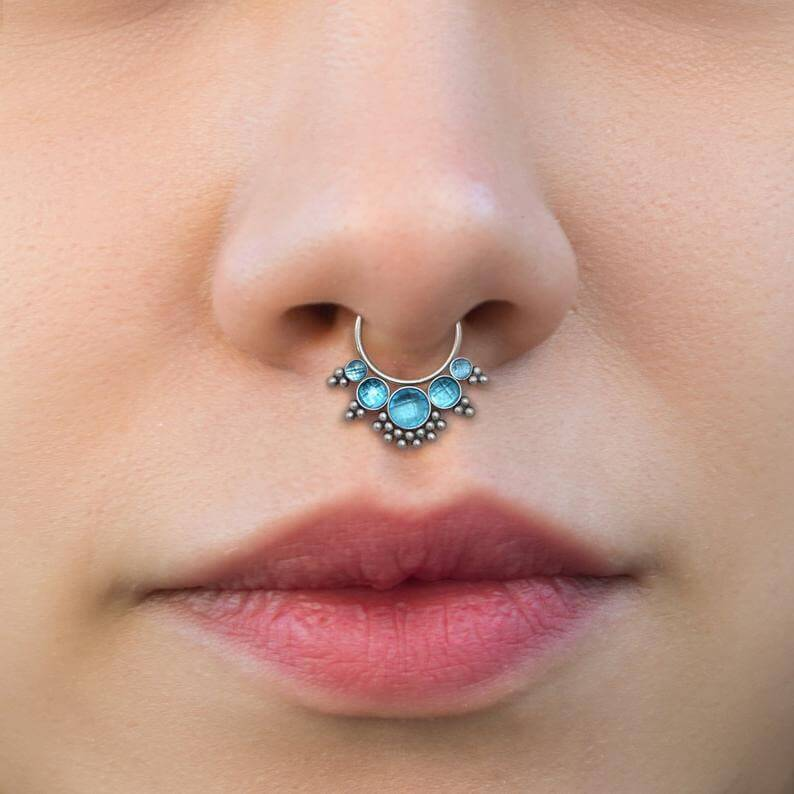 nose jewellery gold