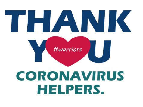 Thank You Coronavirus Helpers